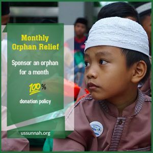 Monthly Orphan Relief - Ussunnah