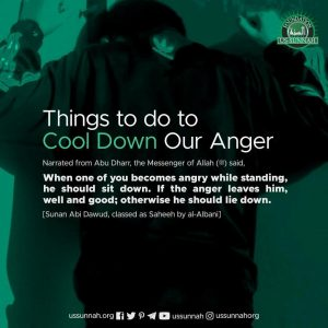 how to cool down your anger