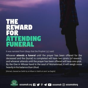 attending funeral