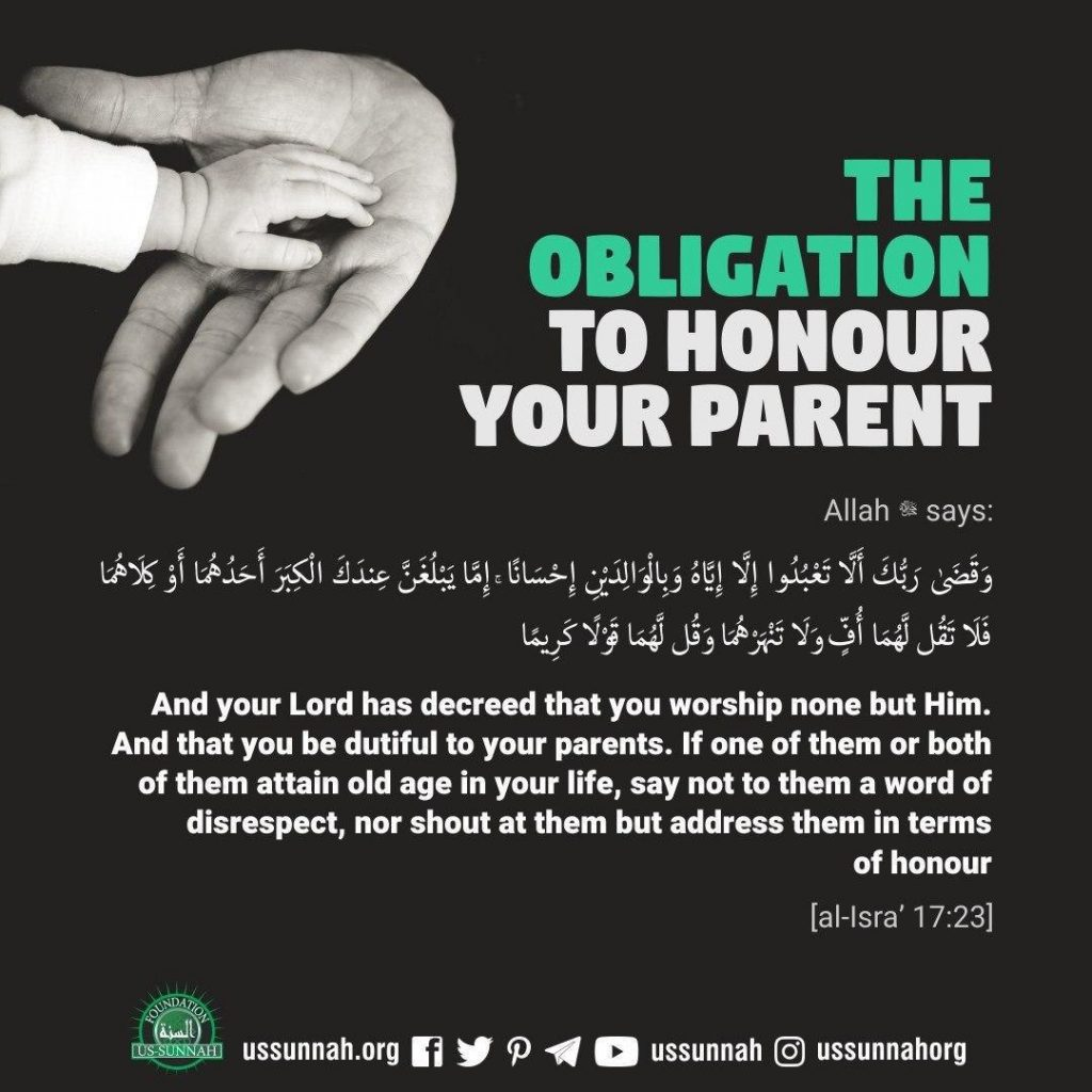 give honour parent