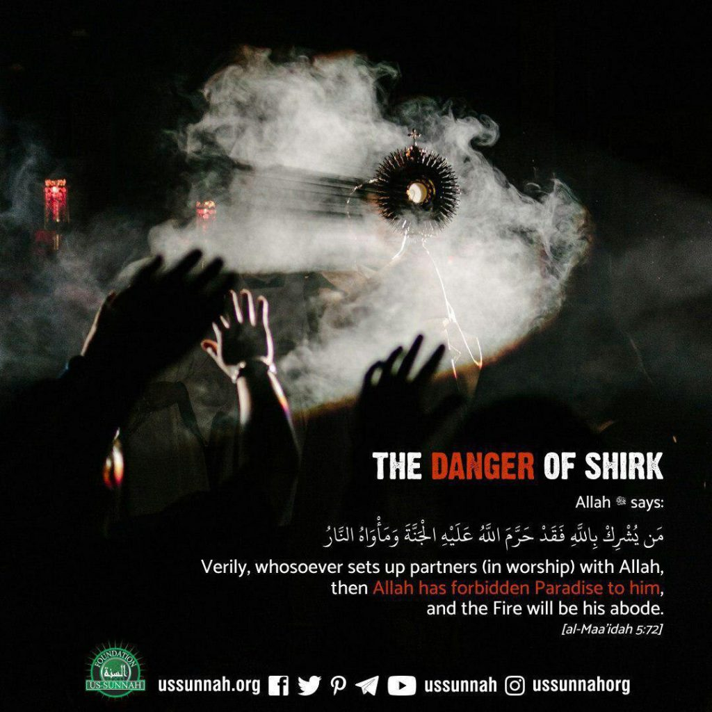 danger of shirk