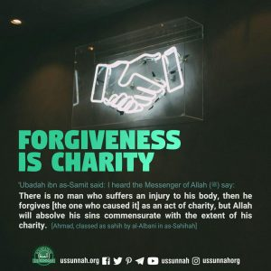 forgiveness is charity