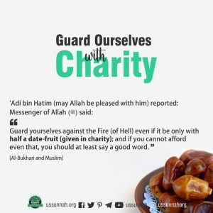 guard ourself with charity