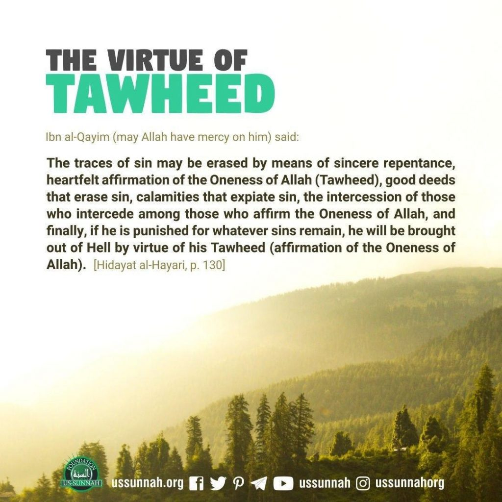 the virtue of tawheed