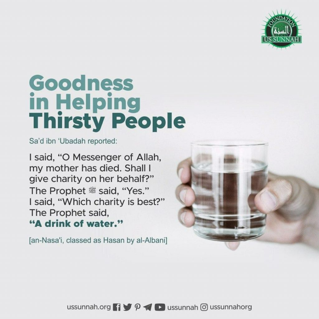 Helping Thirsty People