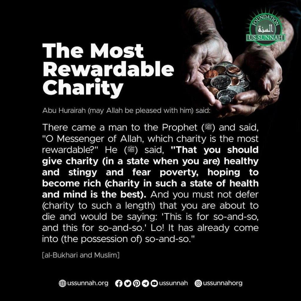 The Most Rewardable Charity