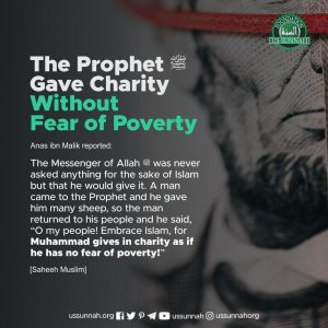 charity fear poverty