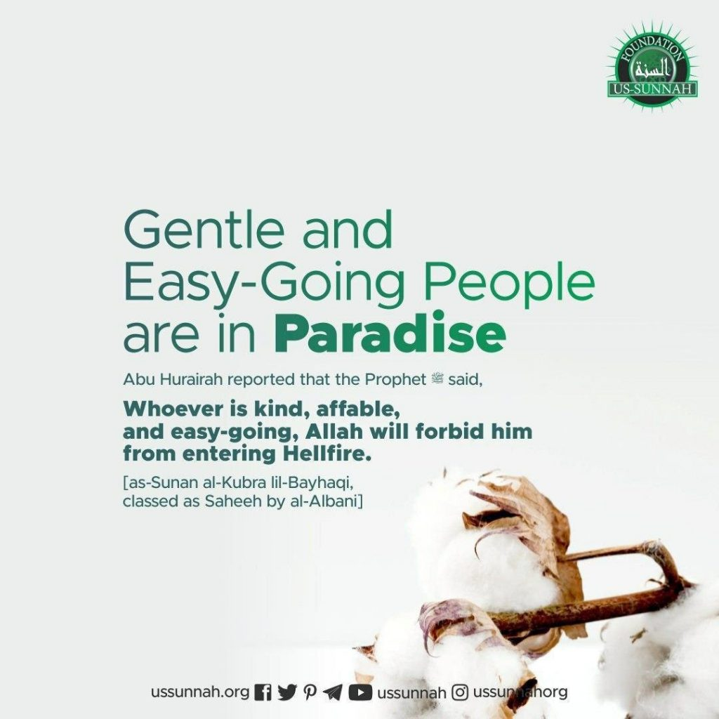 Gentle and Easy-Going People are in Paradise