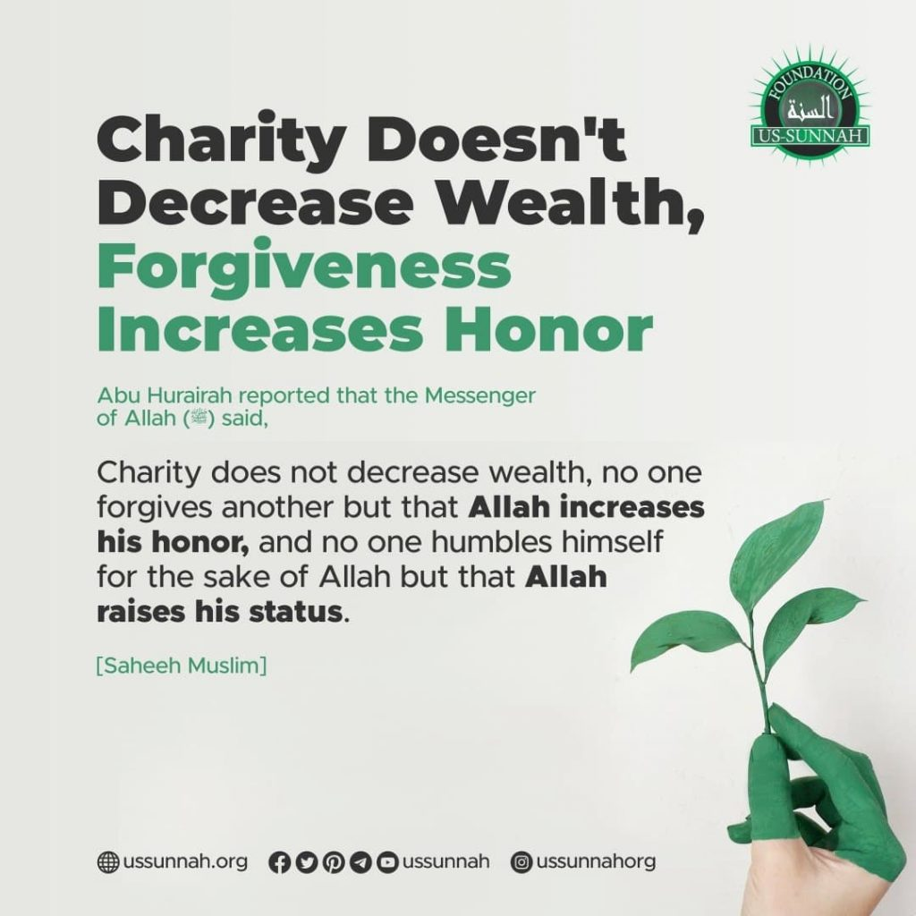 Charity Doesn't Decrease Wealth